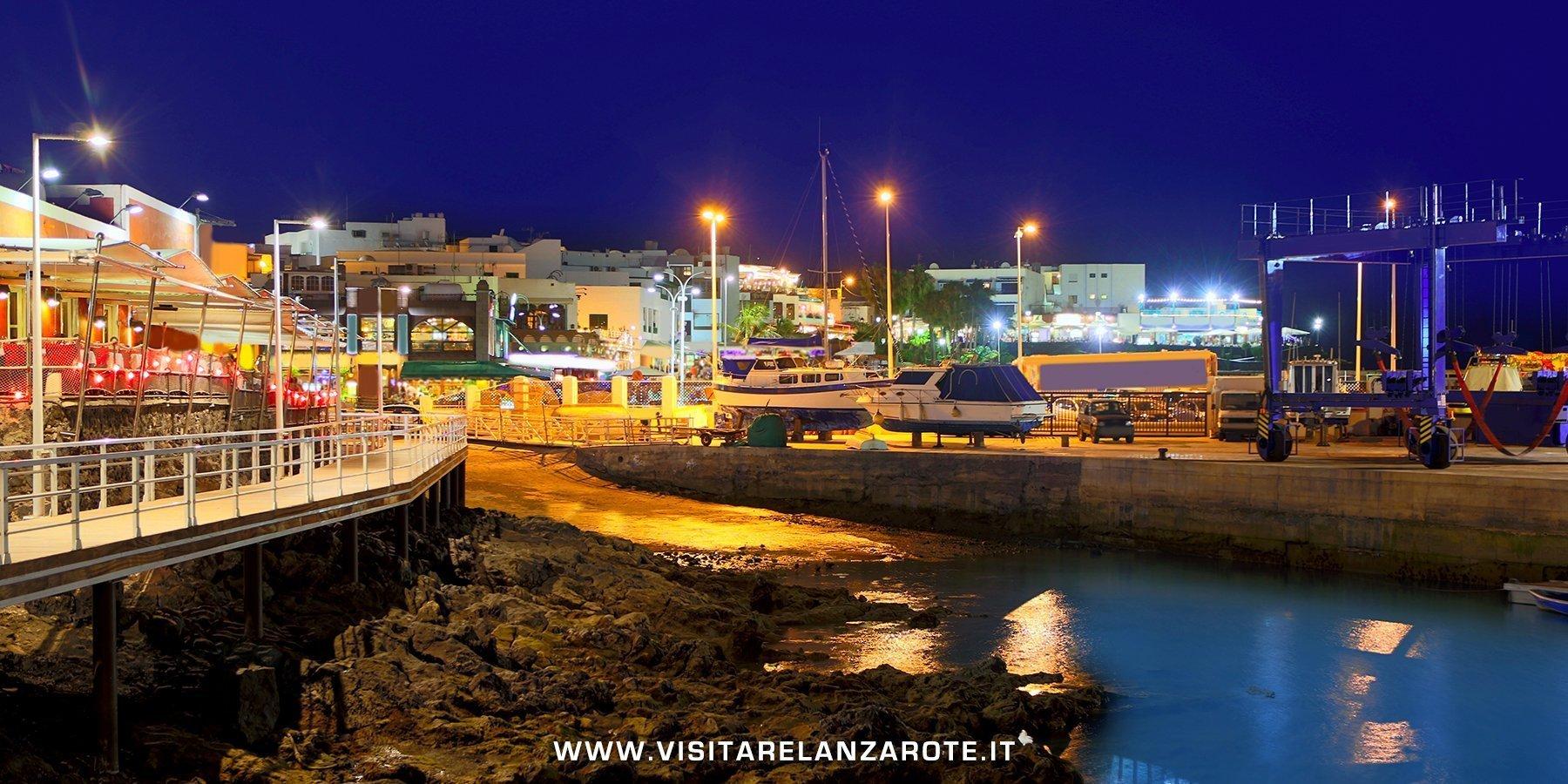vita notturna Lanzarote