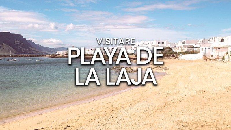 Playa de La Laja, Lanzarote | Spiaggia de La Graciosa