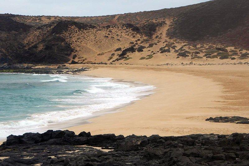 playa baja del ganado Lanzarote