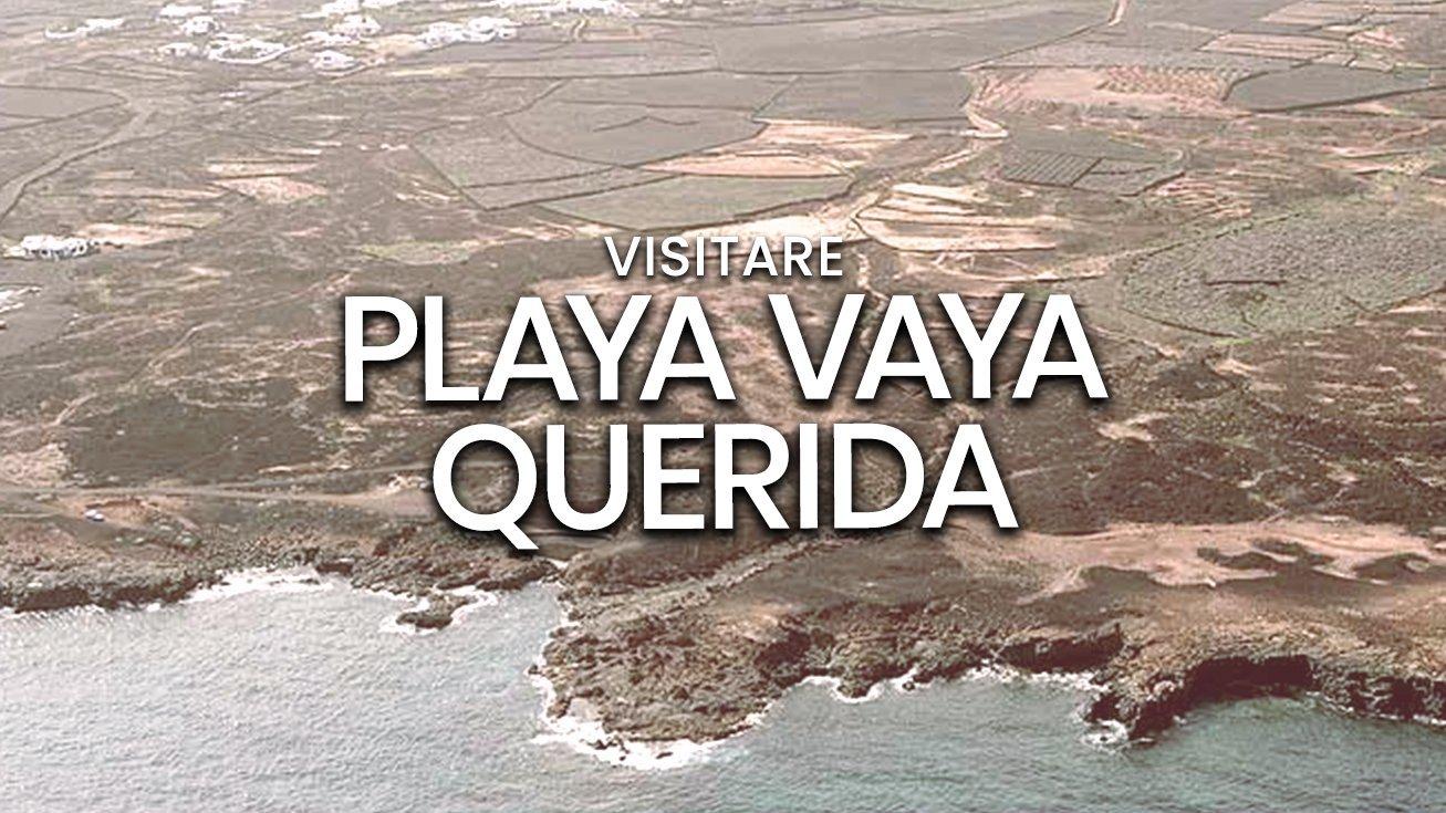 Playa Vaya Querida, Haría   Spiaggia dell'isola di Lanzarote