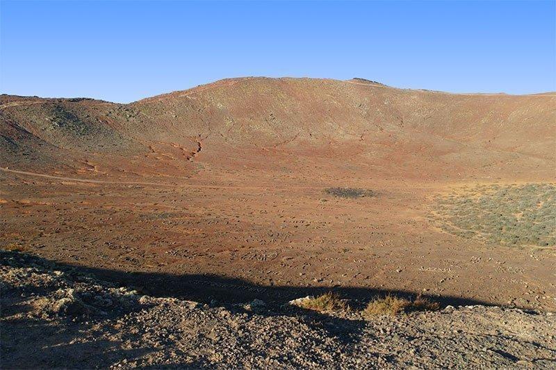 montana roja Lanzarote