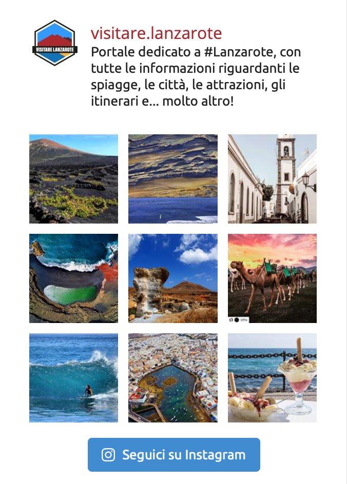 Instagram Visitare Lanzarote